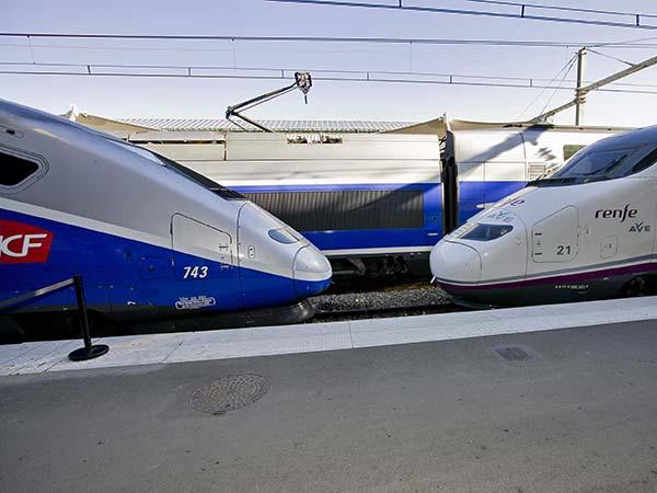 Renfe-SNCF trains
