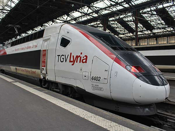 TGV Lyria Train