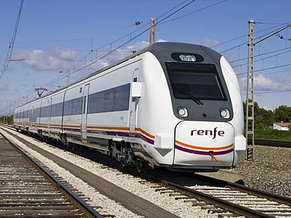 Renfe Media Distancia Train
