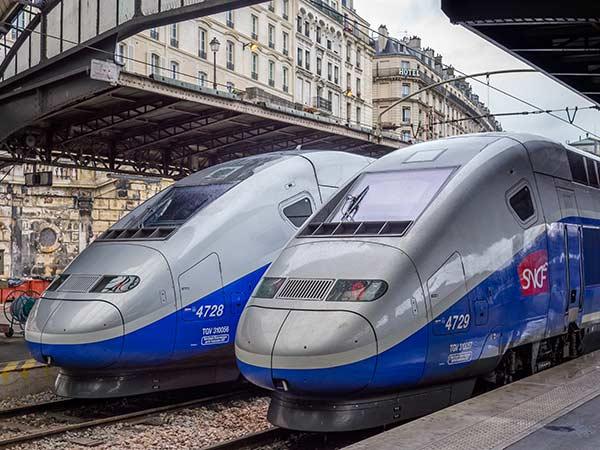 SNCF TGV trains